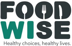 FoodWIse Logo contains the words FoodWise Healthy choices, healthy lives.
